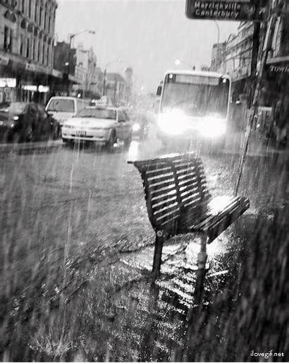 Pluie Pioggia Gifs Giornata Piove Femmes Lluvia