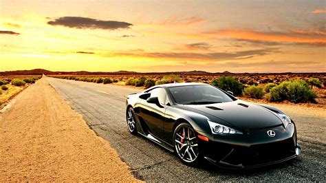 39 Lexus Lfa Hd Wallpapers