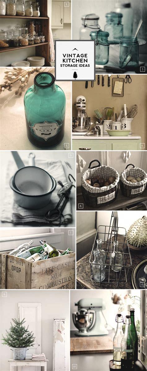 vintage kitchen storage ideas  milk baskets  wicker