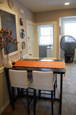 kitchen bar table against wall kitchen table like how this is right up against the wall