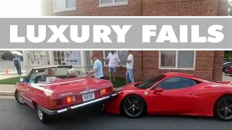 Expensive Super Car Crash Compilation  Epic Luxury Exotic