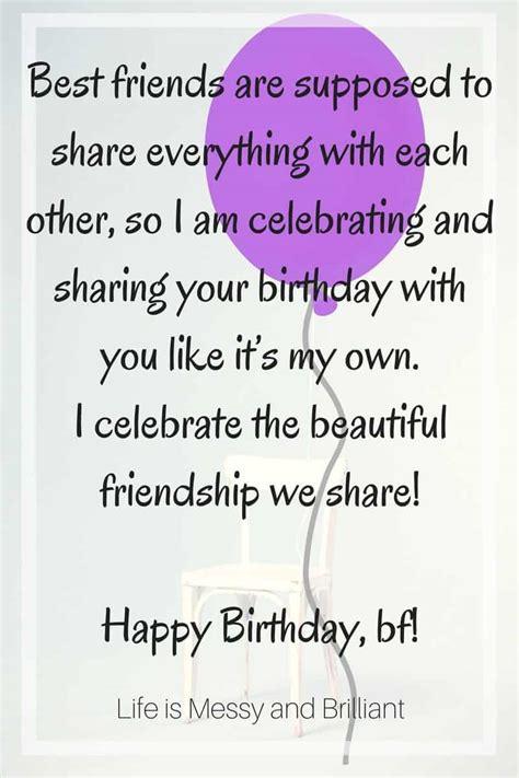 happy birthday best friend letter quote special message happy birthday best friend 23340