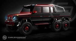 Popular Mercedes Benz G 63 6x6 By Carlex Design