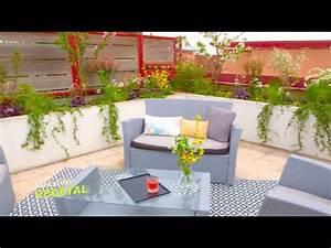 Aménager Une Terrasse : am nager une terrasse en salon de jardin mission v g tal ~ Melissatoandfro.com Idées de Décoration