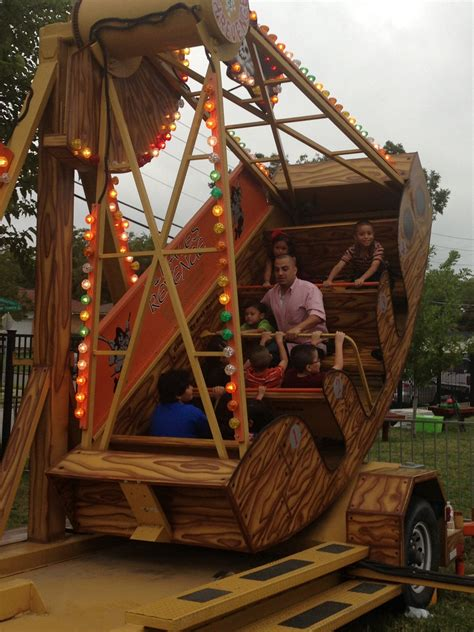 Pirate Ship Carnival Ride for Rent in Texas