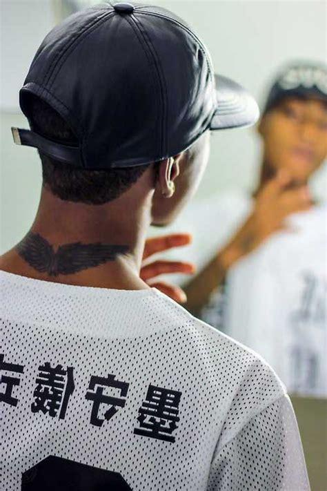 nacken mann nacken fl 252 gel mann bmw wing nape trendy tattoos
