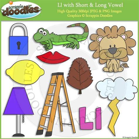 short  long vowel doodle images  art clip art