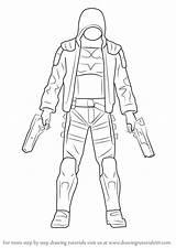 Hood Draw Step Drawing Cartoon Characters Drawingtutorials101 Tutorials Tutorial Learn sketch template