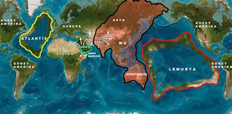 lost pacific continent of mu or lemuria what is the