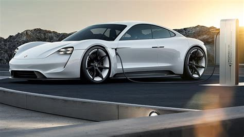 Image Porsche Mission E Concept Electric Car Size 1024