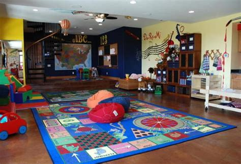 huge playroom