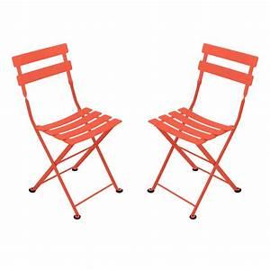 Chaise Bistro Fermob : chaise tom pouce de fermob capucine ~ Melissatoandfro.com Idées de Décoration