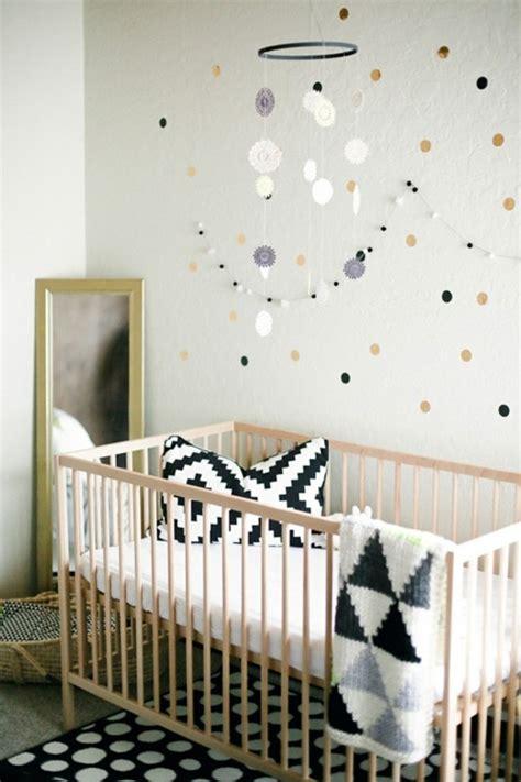 chambre bebe fille originale idées de décoration chambre bébé fille en noir et blanc
