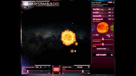 solar system builder youtube