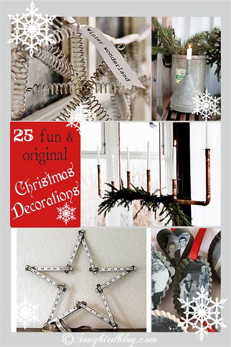 fun original christmas decorating ideas
