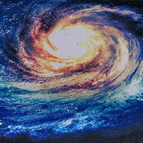 Spiral Galaxy Tapestry Milky Way Starry Night Decorative