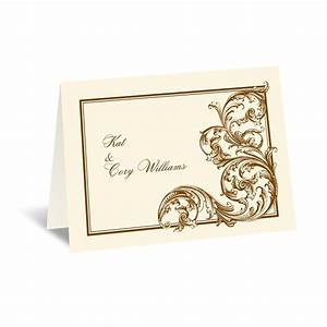 fine filigree thank you card invitations by dawn With wedding thank you cards invitations by dawn