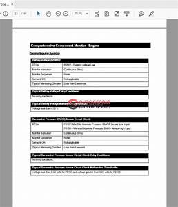 Ford Power Stroke Diesel Engine Obd 2004 6 0l V8 Diagnostic Manual