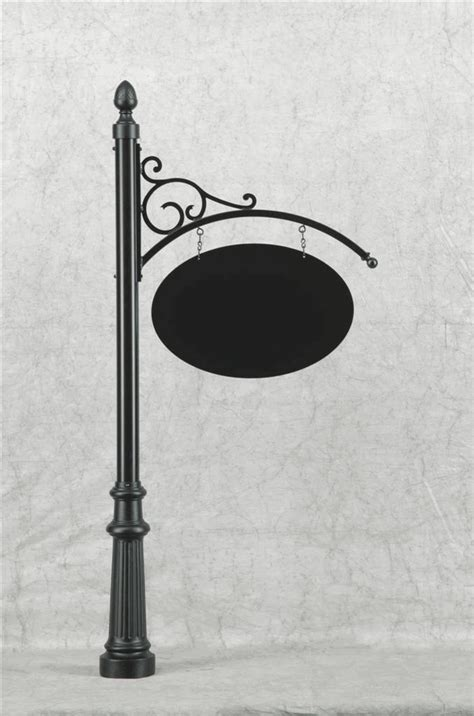 Decorative L Posts - decorative posts with hanging brackets