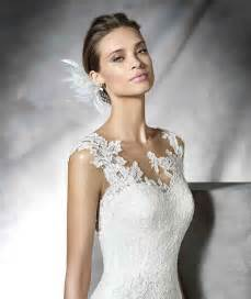 robe mariã e dentelle robe de mariée en dentelle simple avec barre robe de mariée décoration de mariage