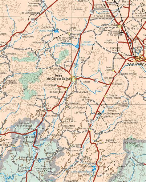 mapas rios zacatecas
