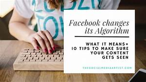 Facebook Changes Its Algorithm - Tips and Optimizations