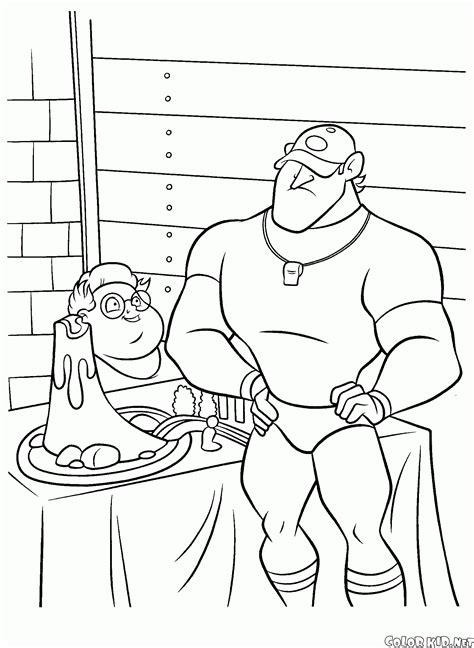 coloring page meet  robinsons