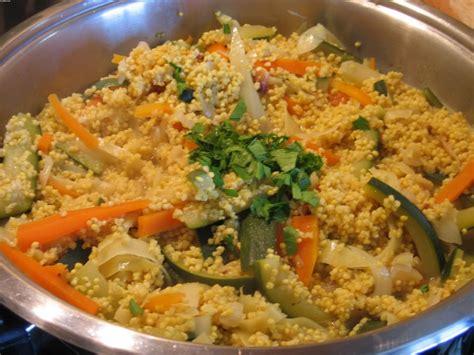 cuisine milet risotto de millet aux légumes risotto vegan