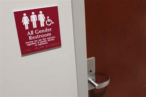 gender neutral bathrooms on college cuses questrom creates building s all gender restroom