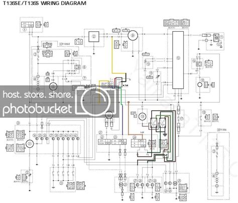parklight battery driven  headlight stator driven diy diagram page  yamaha