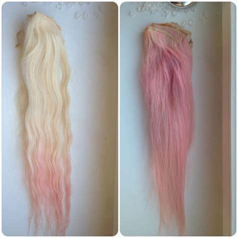 Sebastian Simon Diy Blonde To Pink Ombre Hair