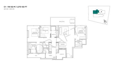 cuscaden condo floor plan updated