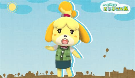 Isabelle Animal Crossing Wallpaper - isabelle animal crossing mmd dl by nipahmmd on deviantart