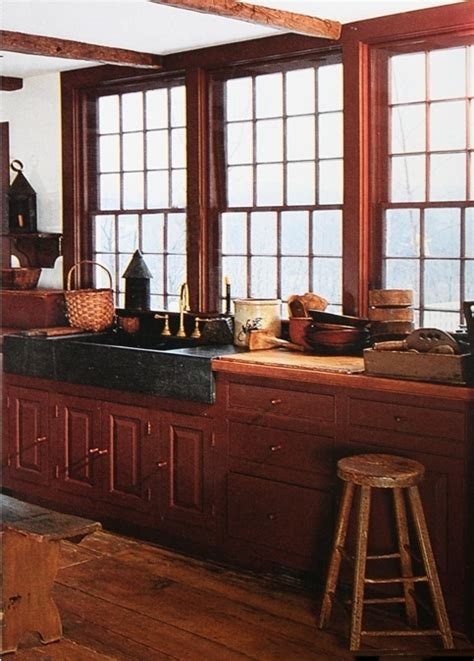 colonial kitchen cabinets the large windows sink cabinet and wood colors 2304