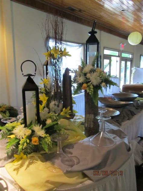 Centerpiece for Buffet Table