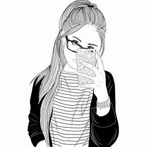 Fille Noir Et Blanc : r sultat de recherche d 39 images pour fille dessin noir et ~ Melissatoandfro.com Idées de Décoration