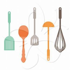 Border Kitchen Utensils Clipart - Clipart Suggest