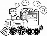 Train Coloring Pages Steam Printable Chuff Trash Truck Engine Locomotive Books Getcolorings Print Front Hooves Derpy Amazing Wecoloringpage Template sketch template