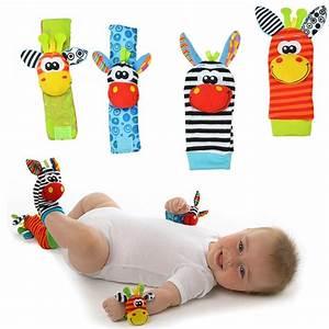 Infant Baby Kids Socks Rattle Toys  U2013 Loveinpassion