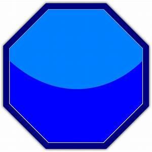 Blue Stop Sign Clip Art at Clker.com - vector clip art ...