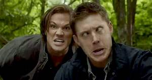 Supernatural Funny Face GIF - Find & Share on GIPHY