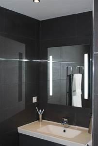salle de bain noire photo 1 3 3511464 With salle de bain faience noire