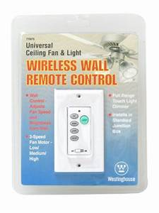 Westinghouse wireless ceiling fan and light wall
