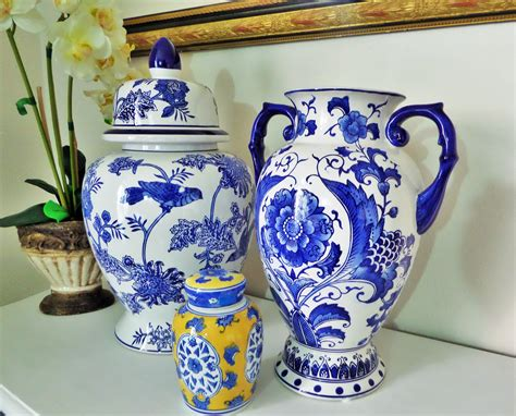 blue ginger jar ls ginger jars and blue vases