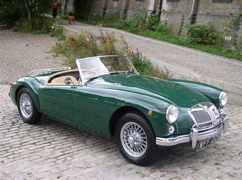 Classic Chrome | MG A 1500 1958 (Historic Plate) British ...