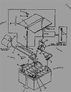 Battery And Relay Switch - Hydraulic Excavator Komatsu Pc150-3