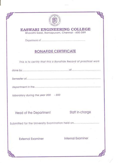 application letter bonafide certificate school