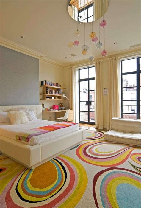 couleur chaude chambre peinture chambre fille 12 idées modernes et féminines