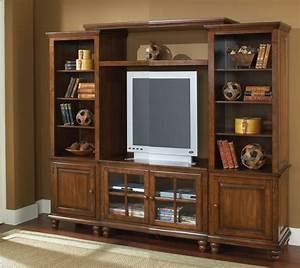 Hillsdale Grand Bay Small Entertainment Unit In Distressed