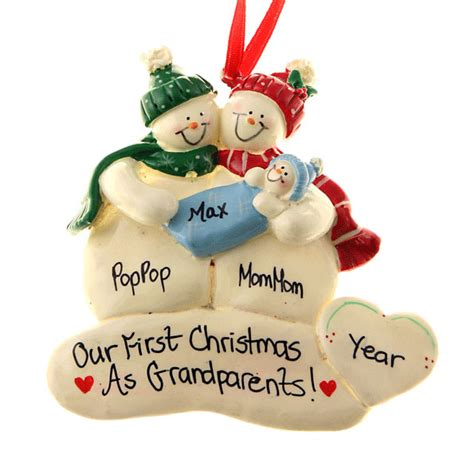 ideas from baby to grandparents for christmas grandparents ornament gift baby boy 595 215 595 pouted lifestyle magazine